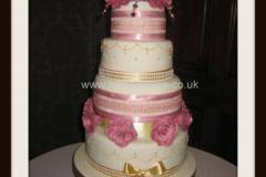 Four-tier-roses-£450
