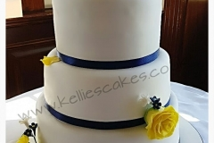 Navy-and-Yelow-Roses